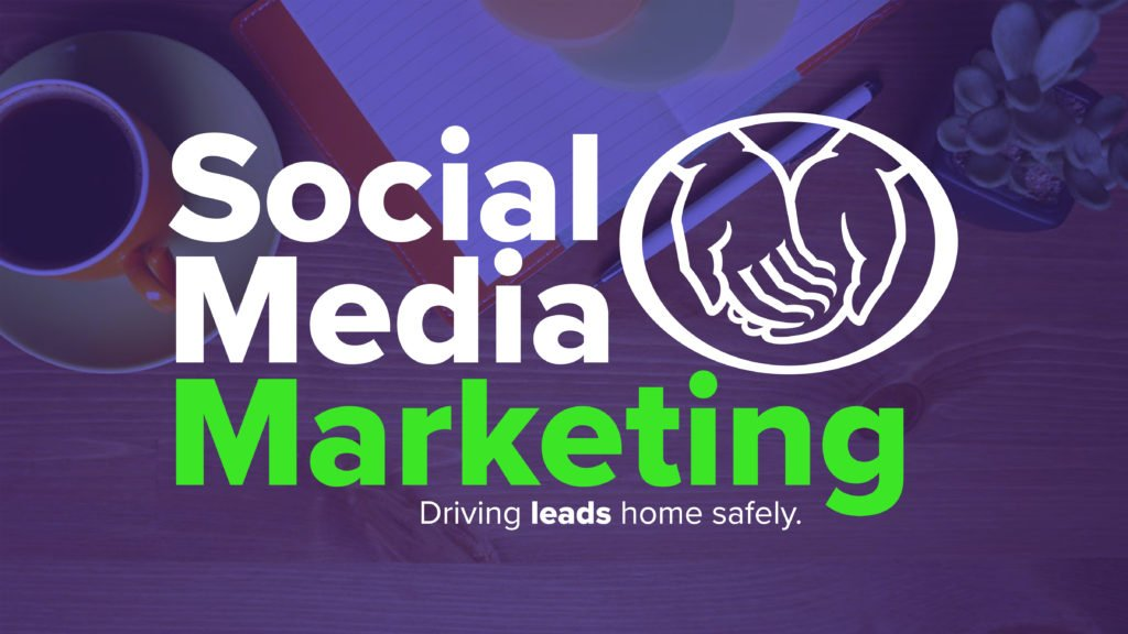 social media marketing Allstate graphic